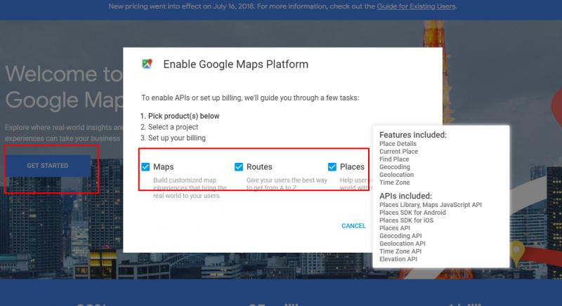 Google Maps API update | Web Development Blog | Gooey